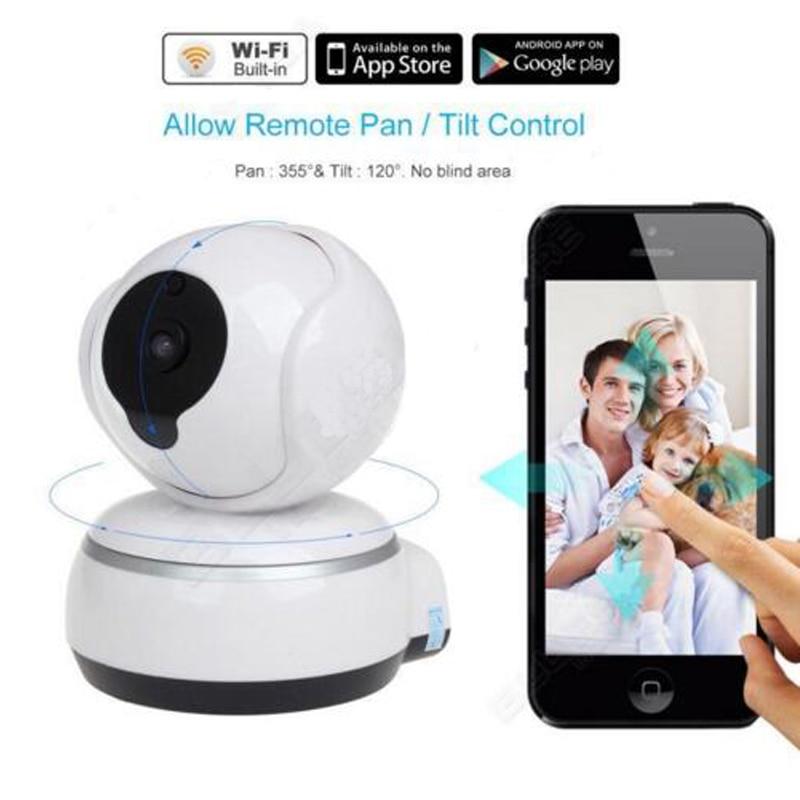 720P HD IP Camera WiFi Smart Wireless Home Security Intercom Video Surveillance Baby Camera Monitor 2-Way Audio Talk