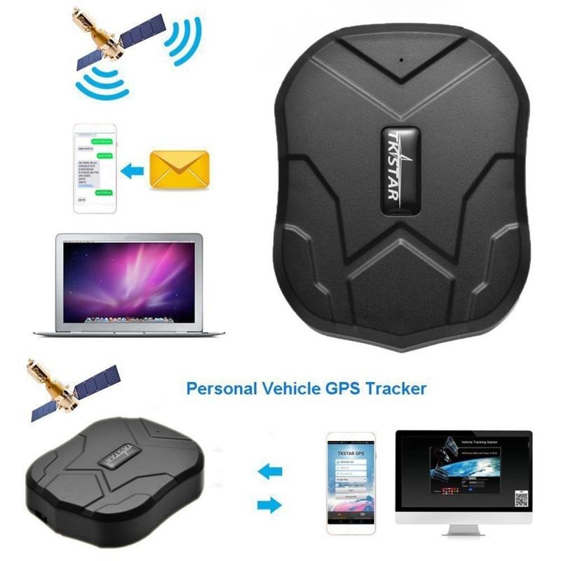 TKSTAR GPS Tracker voiture TK905 5000 mAh 90 jours en veille 2G traqueur de véhicule GPS localisateur étanche aimant moniteur vocal application Web gratuite