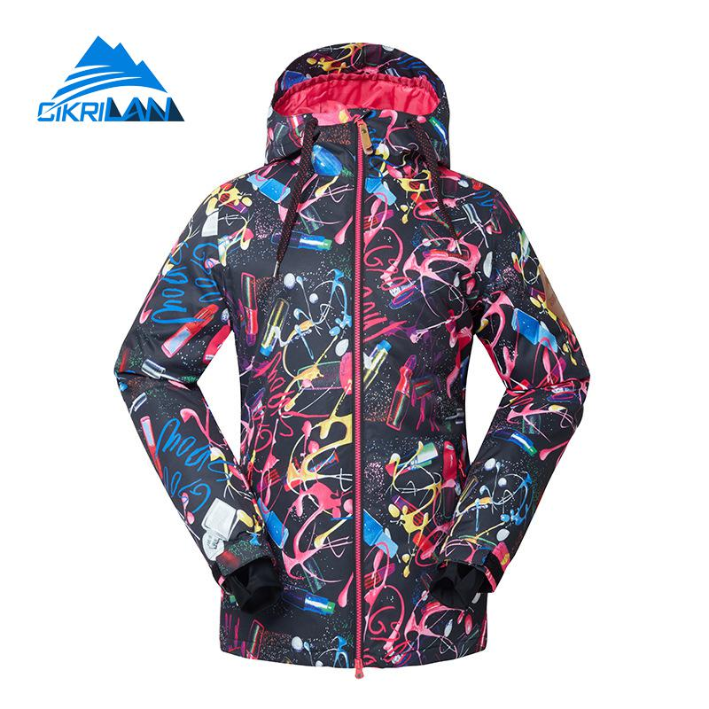 Hot Ladies Winter Outdoor Waterproof Ski Jacket Women Windbreaker Snowboarding Padded Coat Sport Camping Hiking Chaqueta MujerHot Ladies Winter Outdoor Waterproof Ski Jacket Women Windbreaker Snowboarding Padded Coat Sport Camping Hiking Chaqueta Mujer