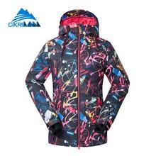 Hot Ladies Winter Outdoor Waterproof Ski Jacket Women Windbreaker Snowboarding Padded Coat Sport Camping Hiking Chaqueta
