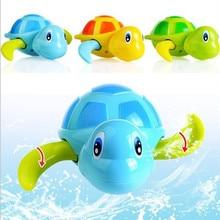 Новая заводная черепаха, мультяшная игрушка для малышей, малышей, детей, много-тип, заводная черепаха, цепь для купания, душ, заводная игрушка