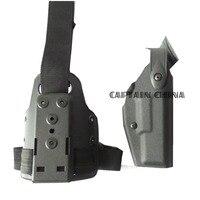 Тактический Охота кобуры пистолет Военная Униформа нога Airsoft ногу кобуры пистолет для Glock 17 19 22 23 31 32