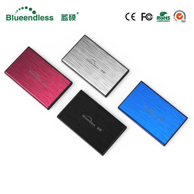 "SATA I, II, III SATA USB 3,0 Металл SSD HDD 2,5 ""HDD кэдди sata к USB 3,0 HDD Box HDD корпус 6 Гбит/с Бесплатная доставка"