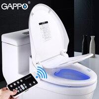GAPPO сиденье для унитаза умное биде, туалетное сиденье удлиненное электрическое биде крышка мочалка электрический умный разумный Туалет сид