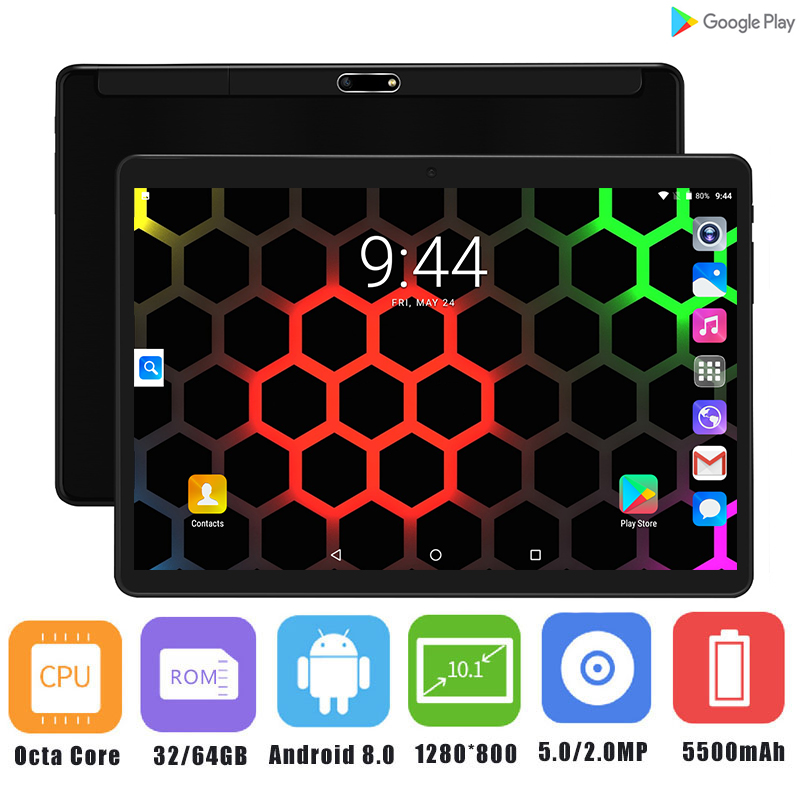 2019 el más nuevo 2.5D de 10 pulgadas Tablet PC Android 8,0 Octa Core 4 GB RAM 64 GB ROM 5.0MP IPS 1280*800 GPS WiFi tabletas 10 10,1-in Tabletas from Ordenadores y oficina on AliExpress - 11.11_Double 11_Singles' Day 1