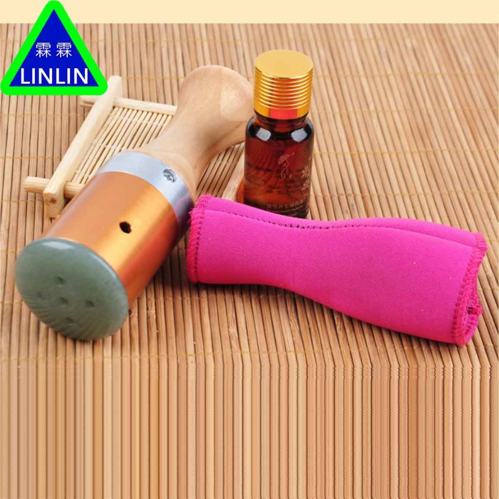 LINLIN Moxibustion apparatus for eye and face Jade moxibustion apparatus Moxa stick Massage temperature moxibustion instrument pure copper portable moxibustion moxibustion box foot and legs warm moxibustion tool
