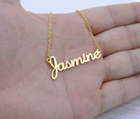 Custom Jewelry Any Personalized Name Necklaces Women Men Geomoetric Animal Plant Round Figure Choker Necklace Bridesmaid
