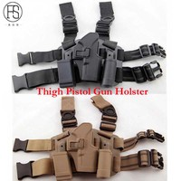 Tactical Right Leg Thigh Holster W Magazine Torch Pouch Glock 17 19 22 23 31 32