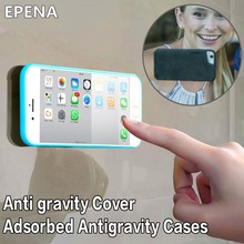 EPENA Adsorbable Cover For Samsung S6 S7 Edge S8 Plus Note 8 5 Capa Anti Gravity Case For iPhone X 6 6s 7 8 Plus 5 5S SE Fundas(China)