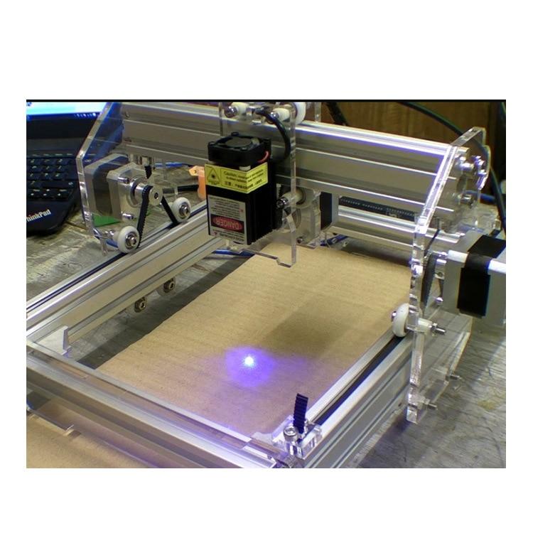 Лазерный модуль 1,6 Вт мини Гравировальный лазер DIY лазерная гравировка микро Лазерная гравировальная головка использование для деревянног...