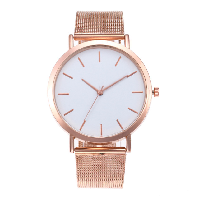 Women's Watches Rose Gold Simple Fashion Women Wrist Watch Luxury Ladies Watch Women Bracelet Reloj Mujer Clock Relogio Feminino 1