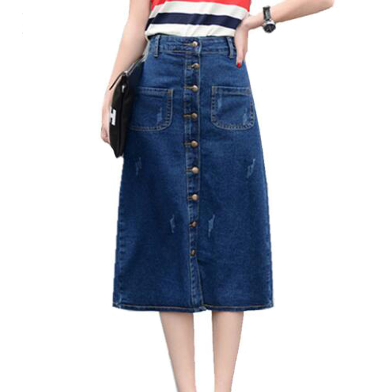 Online Get Cheap Long Jean Skirts -Aliexpress.com | Alibaba Group