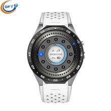GFT Original KW88 Smart Uhr Track Armbanduhr MTK6580 Bluetooth Smartwatch Pulsmesser Schrittzähler Dialing Für IOS Android