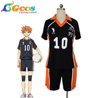 Free Shipping Cosplay Costume Haikyuu!! Shoyo Hinata Suit New in Stock Halloween Christmas Party Uniform