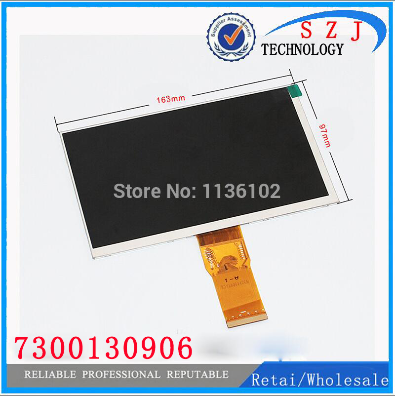 7'' LCD Display Matrix kingtopkt07 TABLET 7300130906 163*97mm TFT inner LCD Display Screen Panel Lens Viewing Frame FreeShipping 7 new tablet lcd screen display panel 50pin 800 480 kr070pm7t 1030300713 for mei qi miki6910 50pin tft 163 97mm same code