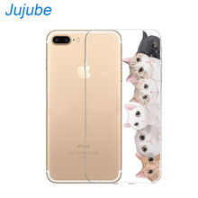 ФОТО case for iphone 5 6 7 x mobile phone conque capa tpu cover for apple iphone 5 / 6 / 6 plus / 7 / 7 plus / x 5.8inch transparent