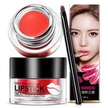 Cushion Lipstick For Pink Lips Makeup Long Lasting Lip Gloss Plumper L