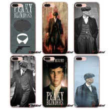 Pour Xiao mi Red mi 4 3 3S Pro mi 3 mi 4 mi 4i mi 4C mi 5 mi 5S mi Max Note 2 3 4 Coque de couverture Blinders Peaky Tommy Shelby TV Show Case(China)