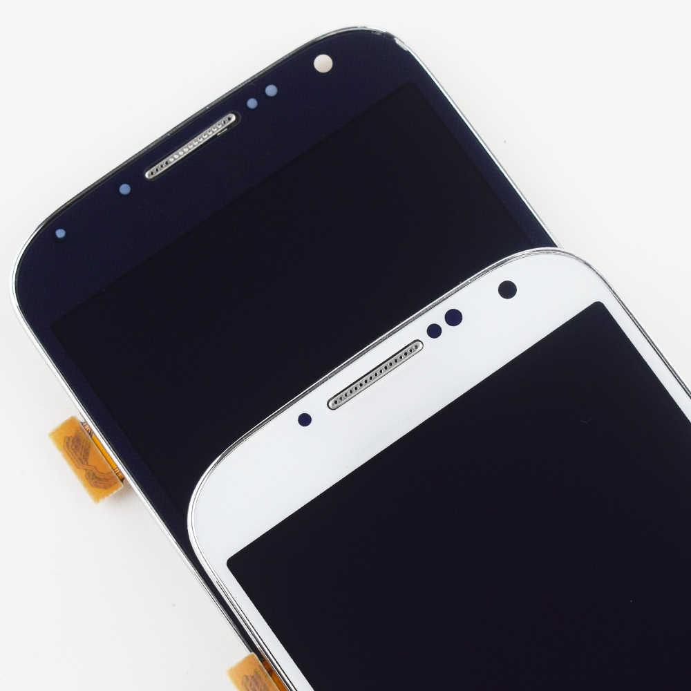 لسامسونج غالاكسي S4 عرض مجموعة المحولات الرقمية لشاشة تعمل بلمس لسامسونج غالاكسي S4 شاشة الكريستال السائل I9500 عرض شاشة I9505 I337
