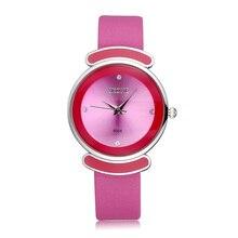 Nueva Marca Skone de Reloj de Señoras de Las Mujeres de Moda Casual Correa de Cuero de Lujo Relojes de Los Estudiantes Deportes Reloj de Cuarzo Relogio Feminino