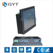 embedded PC Fanless Inter N2807 1.86GHz with 2RS232/4USB 10″ industrial pc 2GB RAM 32G SSD Win7/8/10