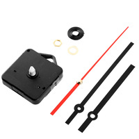YHYSNew New Clock Movement Mechanism Parts Red Second Hand Repair Replacing DIY Quiet Silent Clock Essetial