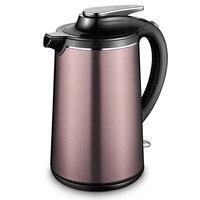 Новый электрический чайник 304 нержавеющая сталь Теплоизоляции Дома автоматическое отключение быстрой Глиняный Чайник для чая водонагрева
