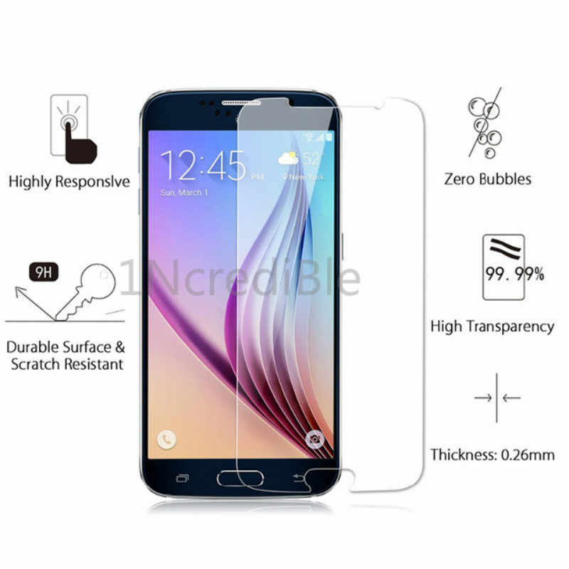 2.5D Tempered Glass For Samsung Galaxy A3 A5 J3 J5 J7 2017 2016 Screen Protector 0.26mm 9H Protective Film Case Glass For J12016
