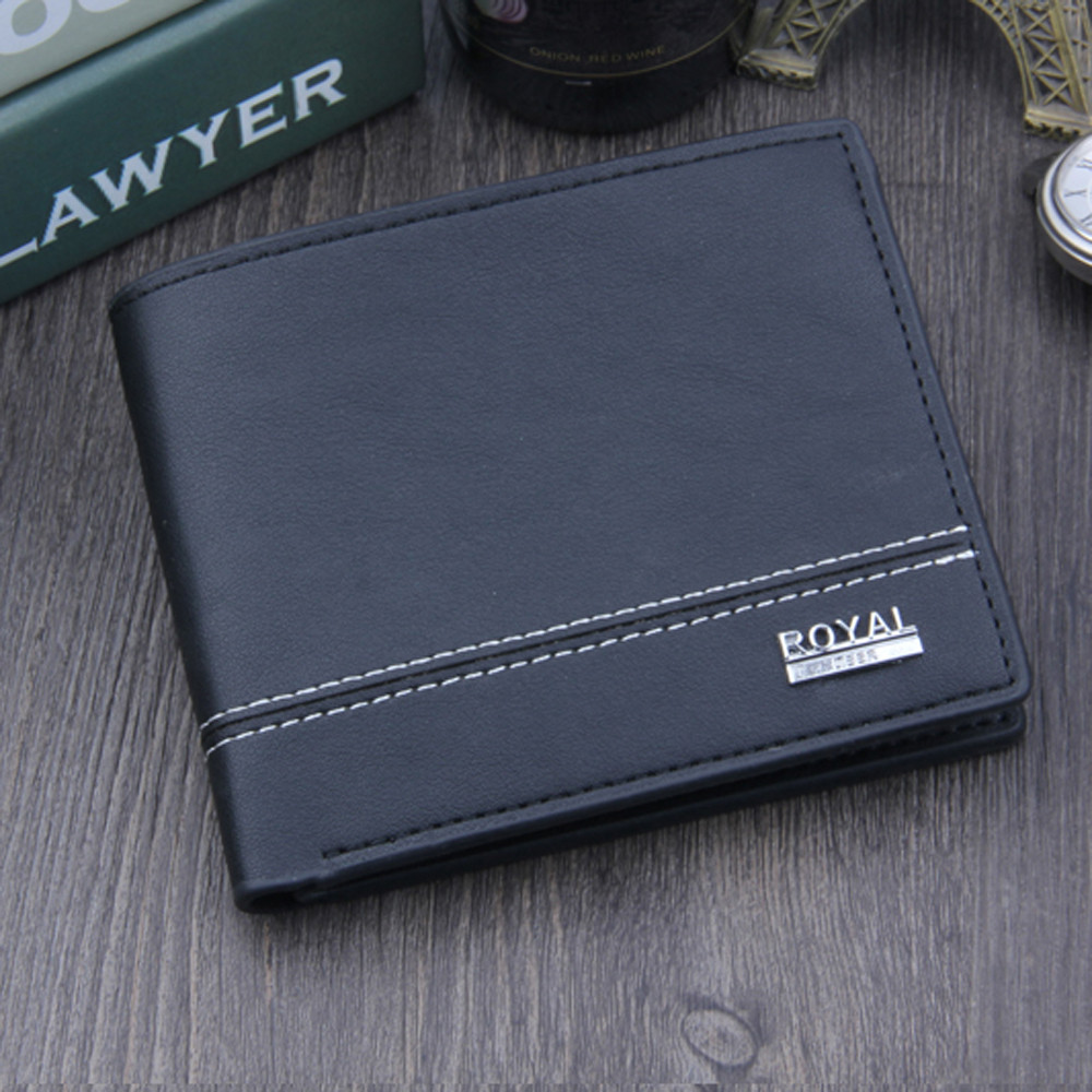 Aelicy Brand 2018 Vintage Man Wallet Male Slim Top Quality Leather Wallets Thin Money Dollar Card Holder Purses for Men carteira