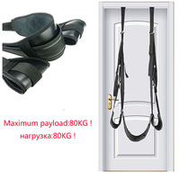 Adult Sex Swing SM Toys Leather Belt Hanging On Door Trapeze Restraint Belt Sex Fetish Toys for Couples Sex Games SM Products