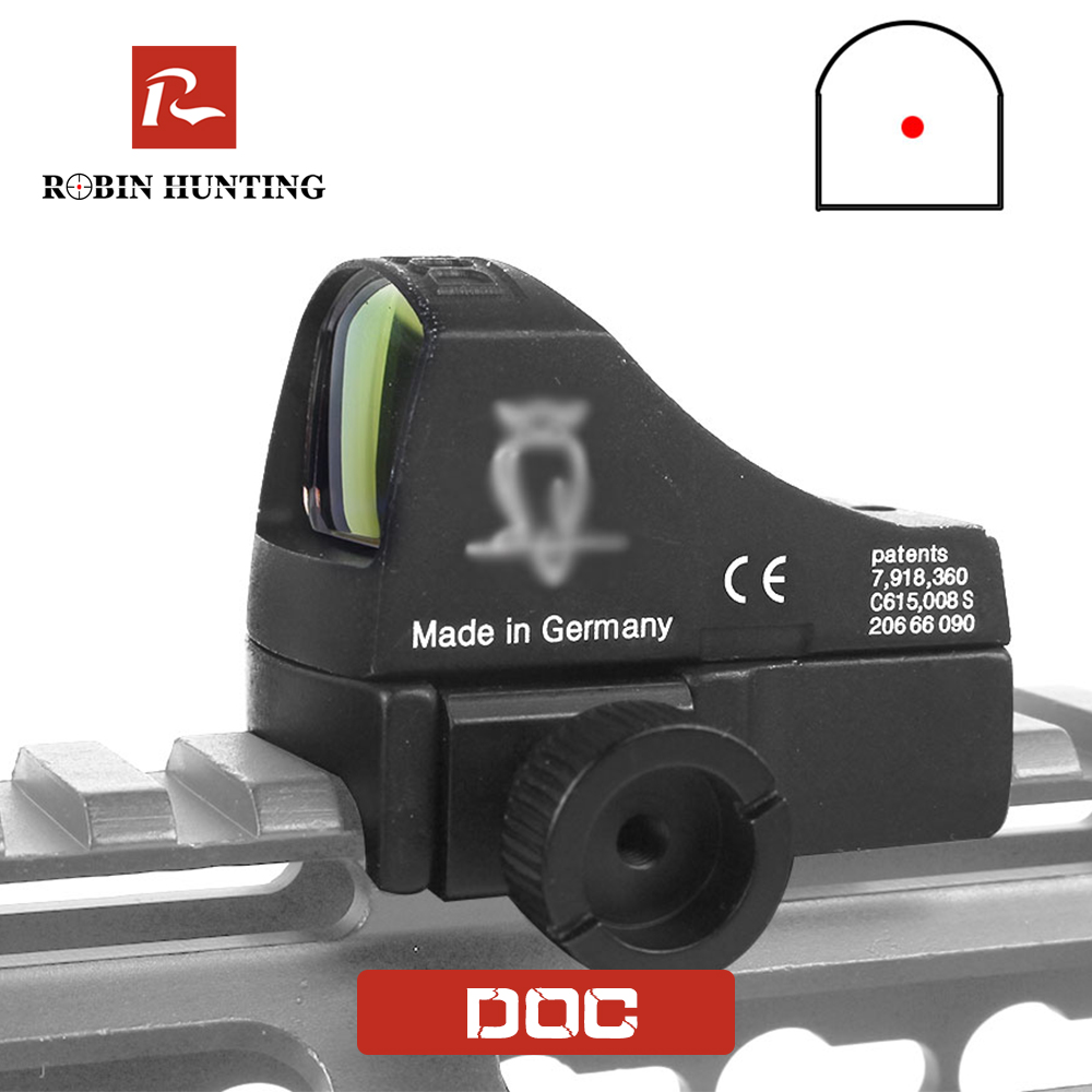 Robin Hunting Docter Red Dot Riflescope Micro Dot Reflex Holographic Laser Sight Scope Tactical Optics Hunting Scopes