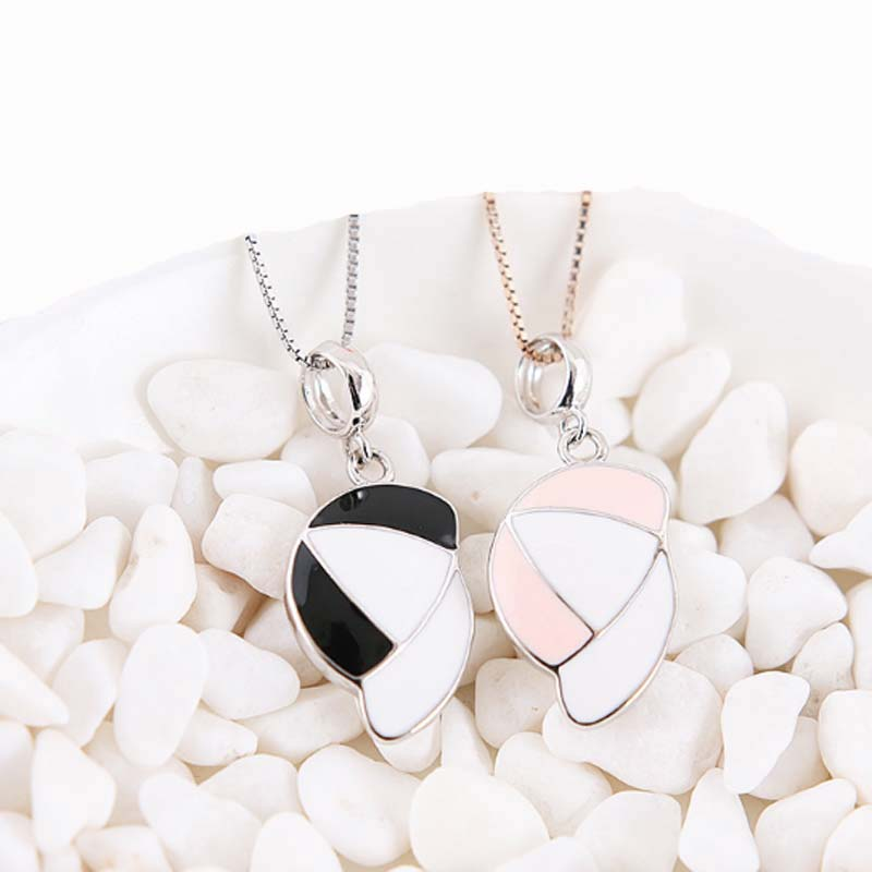 Baseball Pendant Necklace Silver Plated Sports Jewelry Personality Cloth Accessories