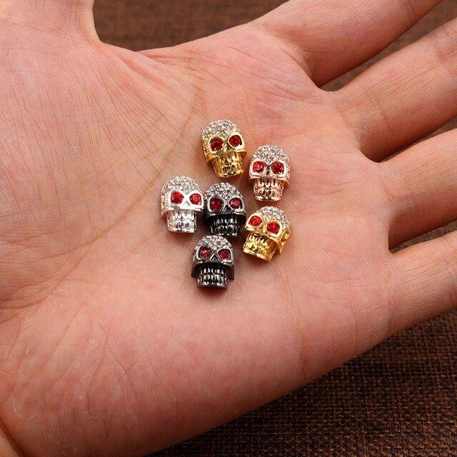 Бусины разделители для браслетов и ожерелий медные бусины с