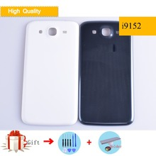 For Samsung Galaxy Mega i9150 i9152 GT-i9150 GT-i9152 Housing Battery Cover Back Cover Case Rear Door Replacement with logo цена и фото