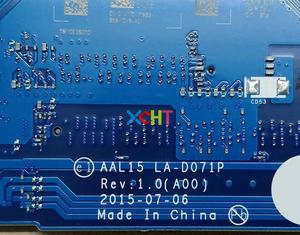Image 5 - Материнская плата для ноутбуков Dell Inspiron 15 5559 YVT1C 0YVT1C фотоэлементов диагональю 15 детской модели R5 M335 4G протестирована материнская плата