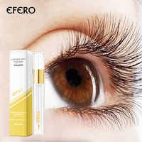 Eyelash Growth Eye Serum Eyelash Enhancer Eye Lash Serum Treatment Eye Lashes Extensions Mascara Thicker Longer Eye Makeup EFERO