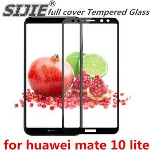 Закаленное стекло с полным покрытием для huawei mate 10 lite nova 2i 10 lite nova2i, 5,9 дюйма, защитная рамка для экрана с краями