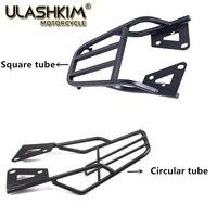 free shipping Black Rear Luggage Carrier Rack Support Holder Saddlebag Cargo Shelf Bracket Kit for Honda MSX125 MSX 125