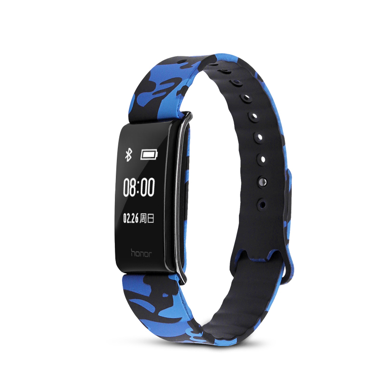 Silicone Strap For Huawei Band A2 Sports Wristband Replacement Smart Watch Bracelet Fresh Looks Colorful Camouflage Sports Band