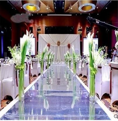Pulmad, kaunistused, hõbedane-kuldne kahepoolne pulm peegli vaip, - Pühad ja peod - Foto 3