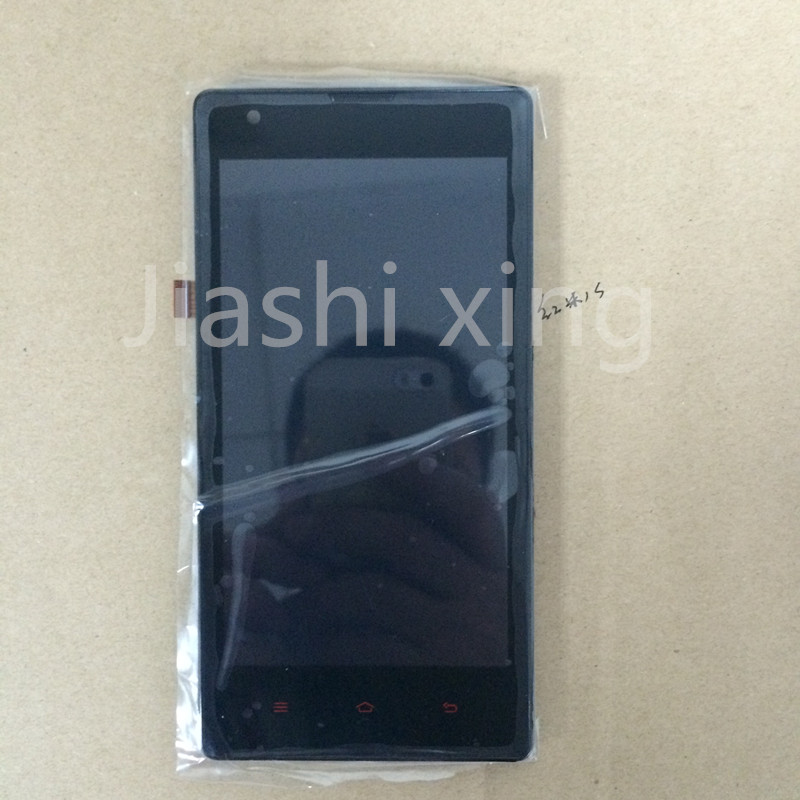 Hongmi 1S LCD Display Touch Screen Panel With Frame Digital Accessories For Xiaomi Redmi 1S Red