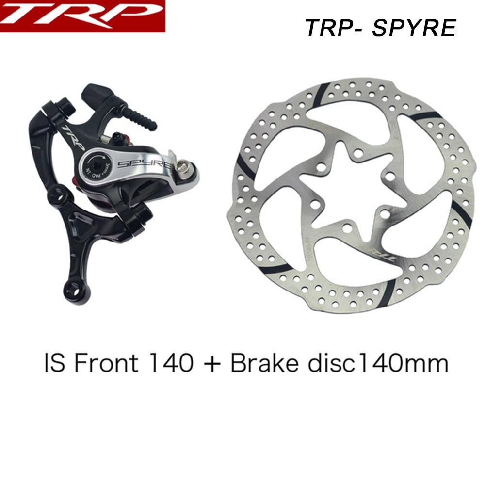 SINGLE TRP SPYKE mechanical disc brake Dual Side Actuation mountain bike