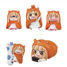 himono onna Doma Umaru cute anime figure 5pcs/set action Nendoroid with box 4cm collection model toy gift Y7623(China)