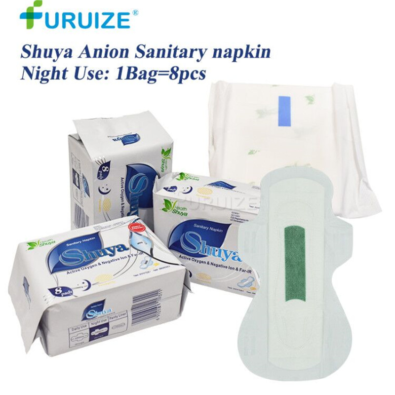 2 10Pack Shuya Sanitary Napkin Night Use Menstrual Pad -7284