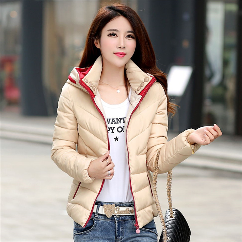 2017 New Autumn Winter Women Coat Fashion Female Down Jacket Women Parkas Casual Jackets Inverno Parka Wadded Plus Size 2017 new autumn winter women coat fashion female army green jacket women parkas casual jackets parka wadded jacket cotton lz190