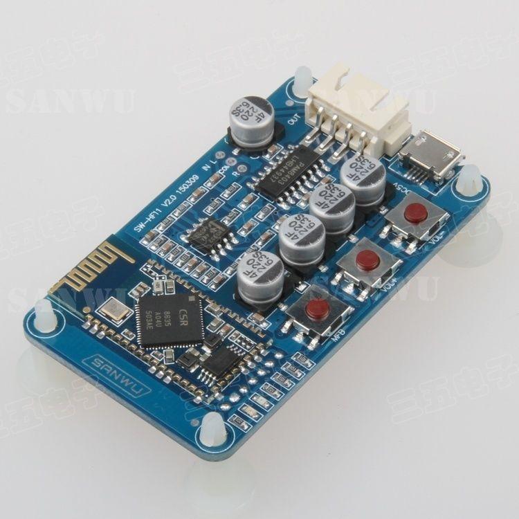 Bluetooth 4 0 Receive Raudio Board Wireless Stereo Digital Amplifier 5v Mini Usb Pam8403 Ne5532 kopen