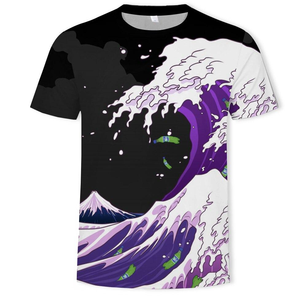 3D Print   T     shirt   Men Clothes 2019 Summer   T  -  Shirt   Male One Piece Harajuku Camisetas Streetwear tshirt Man Tops Tee   T  -  Shirts   Men's