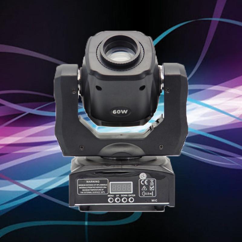 16chs 60 w led moving head spot light dmx iluminacao de palco profissional equipamento dj gobo