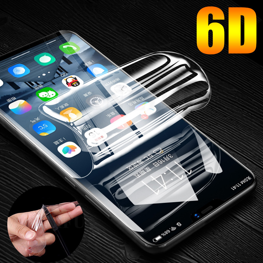 Front-Screen-Protector Sticker Moto Hydrogel G6 Silicone Plus Film 6D for G7 G5s Play