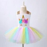 Girls Clothing Vestidos Unicorn Dinosaur Dress Unicorn Party Wedding Tutu Dress for Toddler Baby Girls Moana Princess Dress
